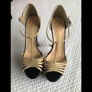 GIUSEPPE ZANOTTI DESIGN Patent Leather Sandals